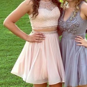 pink formal/ homecoming dress